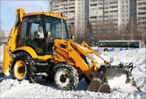 уборка снега в Уфе